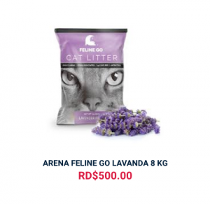 ARENA FELINE GO LAVANDA 8 KG