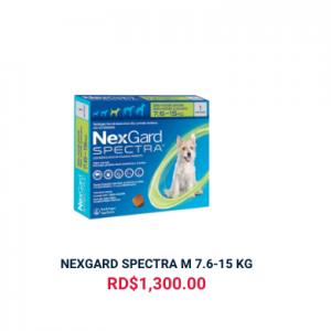 NEXGARD SPECTRA M 7.6-15 KG