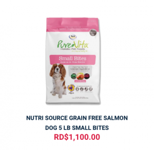 NUTRI SOURCE GRAIN FREE SALMON DOG 5 LB SMALL BITES