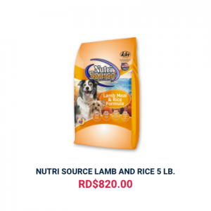NUTRI SOURCE LAMB AND RICE 5 LB.