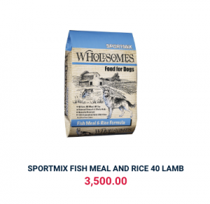 SPORTMIX FISH MEAL AND RICE 40 LAMB
