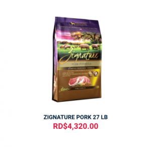 ZIGNATURE PORK 27 LB